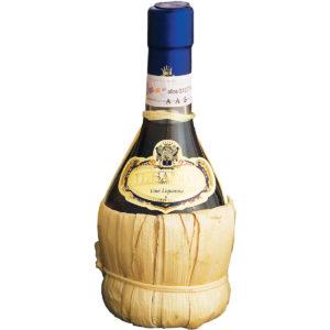 showroom.wine italian winery Marzocchi il santo straw bottle