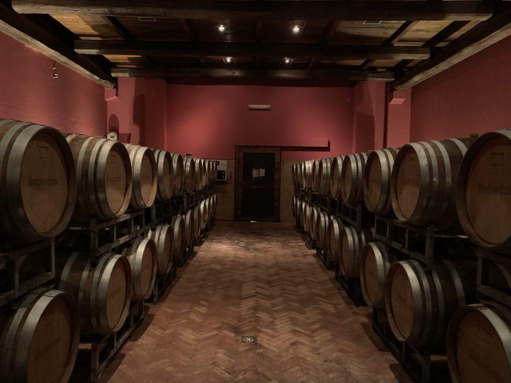 showroom.wine italian winery Montevetrano cellar